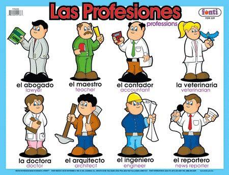 imagenes de profesiones en ingles y español wonderful world profesiones en ingles