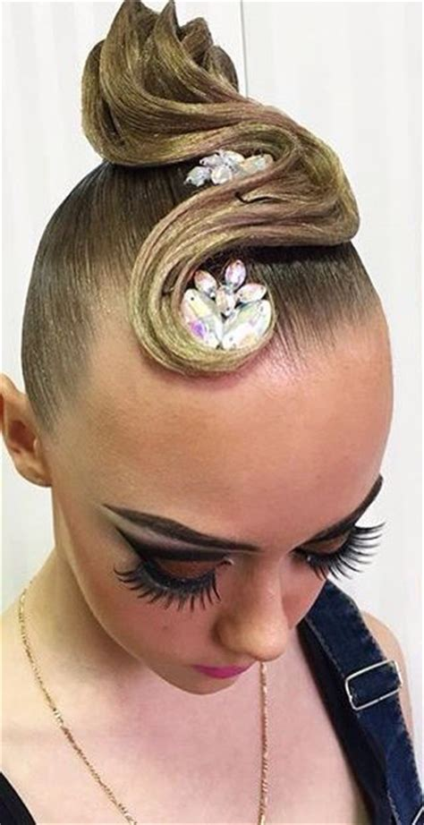 644 best images about dancesport hair on updo buns and hair