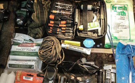 22 In 1 Personal Survival Kit With Flint Rod hunters cing and survival rod