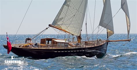 sailing boat bonaventure ashley butler mayflower 50 bermudian cutter 2012