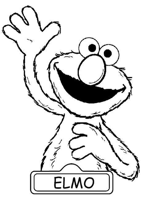 Elmo Color Page elmo coloring pages to print coloring pages to print