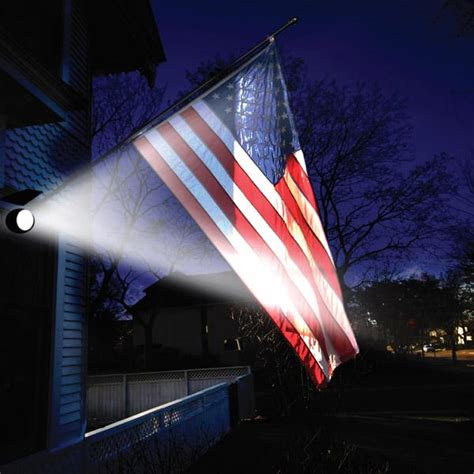 Lighting Flags by Maxsa Directionally Focused Solar Led Flag