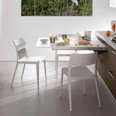 tavolo estraibile cucina spazio in cucina 6 soluzioni per avere cucine