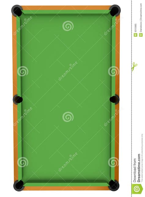 tappeto biliardo table de billard de billard illustration stock