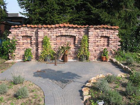 obolith bruchsteinmauer 1 seitig
