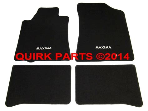 Floor Mats For Nissan Maxima by 2009 2014 Nissan Maxima Black Carpeted Floor Mats Front