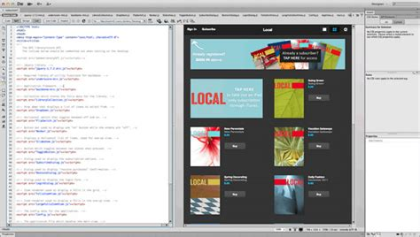 dreamweaver library tutorial styling the html library template with dreamweaver adobe