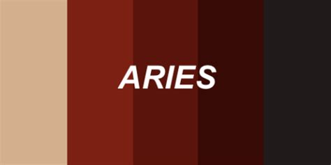 aries color mine my edit leo colors colour cancer aries libra color