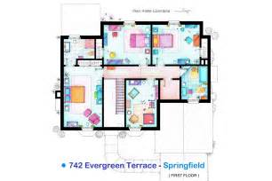 blueprint houses the simpsons house blueprint 02 fng magazine