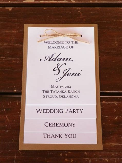 Wedding Reception Thank You Card Template by 25 Best Ideas About Wedding Programs On