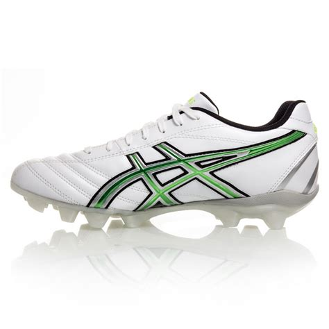asics football shoes asics lethal rs mens football boots white silver green