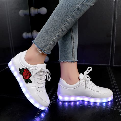 Boots Fashion Miki Led Sz 26 30 Best Seller 2018 New Size 26 44 Luminous Sneakers For Boys