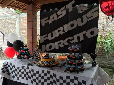 fast and furious 8 plot ideas fast and furious table fast and furious party theme