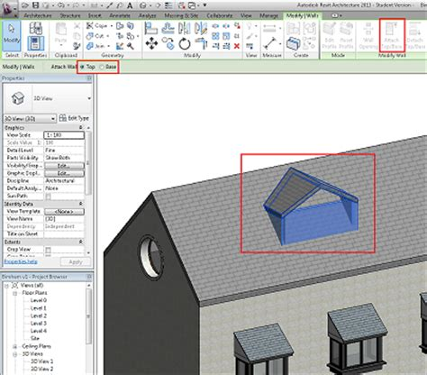 Revit Dormer Roof Creating Dormers In Revit Architecture Bimopedia
