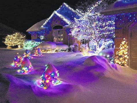 holiday lights go high tech the lima news