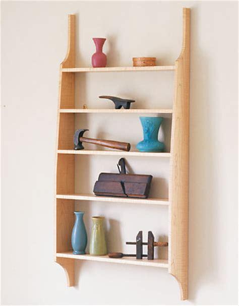 free plan shaker inspired wall shelf finewoodworking