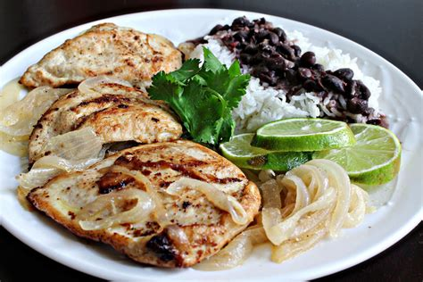 chicken a la plancha grilled lime chicken with onions