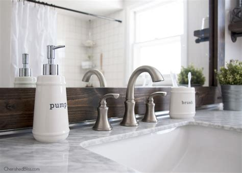 industrial bathroom accessories industrial farmhouse bathroom reveal cherished bliss