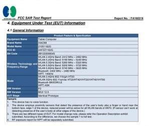 xiaomi mi pad   fcc certification  charging  miui  confirmed gsmarenacom news