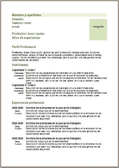 Modelo Curriculum Vitae Combinado 7pasos Ejemplos Y Plantillas De Curriculums V 237 Tae Y Cartas De Presentaci 243 N