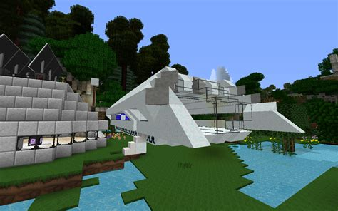 minecraft boat map 1 7 10 1 6 4 1 7 10 warpdrive custom ships laser cannons and