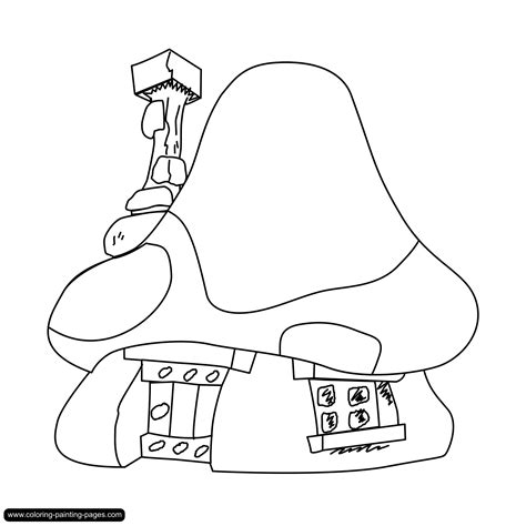 village house coloring pages free coloring pages of village house