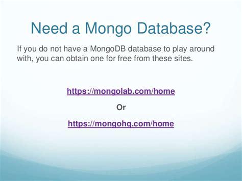 tutorial nosql php mongodb basics nosql tutorial