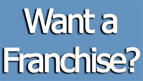 is franchising right for your business brian irwin s blog