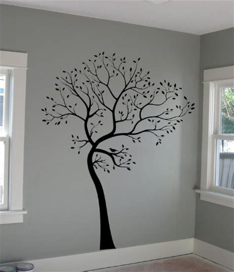 large tree template for wall funky black tree wall decals funkthishouse funk this house