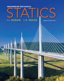 l solutions wiley engineering mechanics statics 7th edition j l