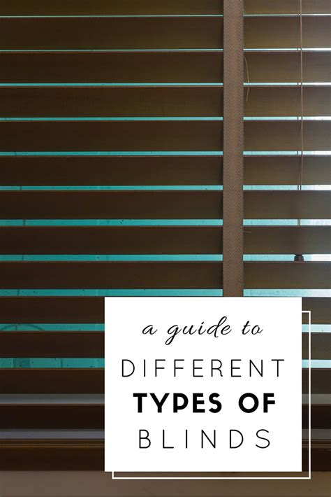 Different Types Of Window Blinds Affordable History Of