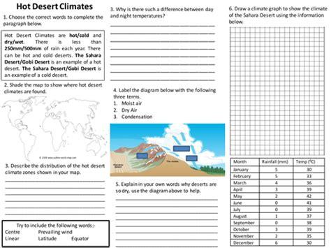 tes new year activities ks2 desert climates worksheet by randomasduck teaching