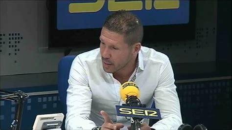 cadena ser deportes el larguero entrevista a simeone en el larguero 1 170 parte v 237 deo