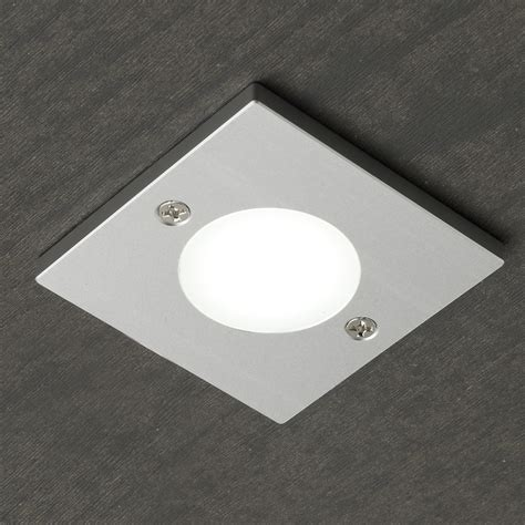 Square Targa Cob Led Ultra Thin Under Cabinet Light Thin Cabinet Lighting