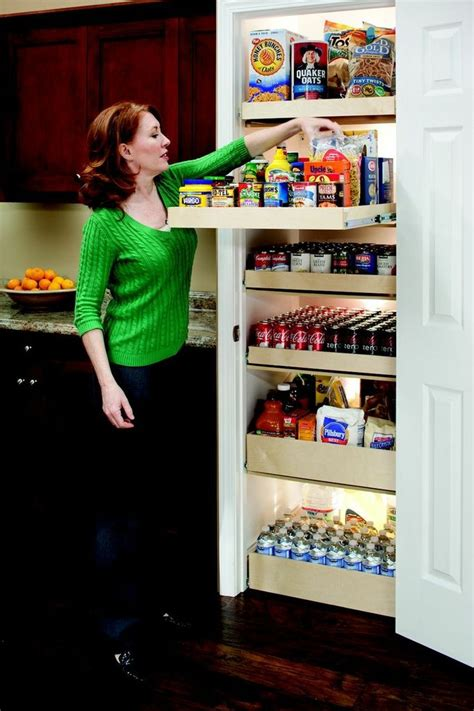Pantry Roll Out Storage System by 17 Best Images About Kitchen Organization On Spice Racks Shelves And Slide Out Pantry