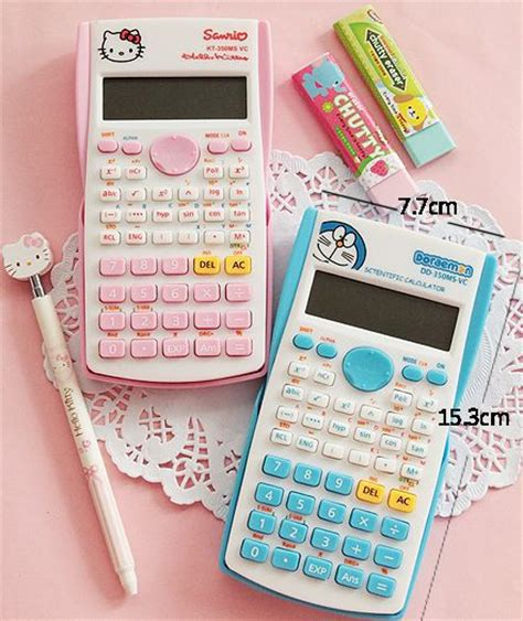 hello kitty calculator school supplies calculator cute