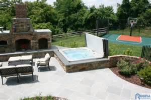 Backyard Retreats Pools And Spas Spa Outdoor Spaces Tub And Pool Supplies Baltimore