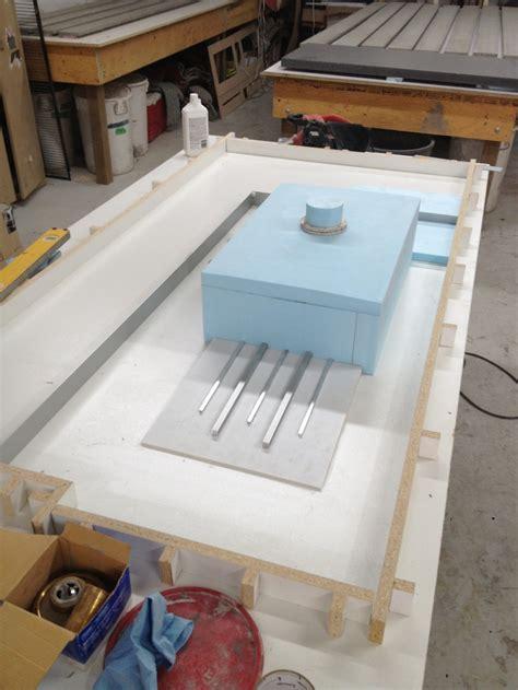 concrete countertop sink forms best 25 concrete countertop forms ideas on