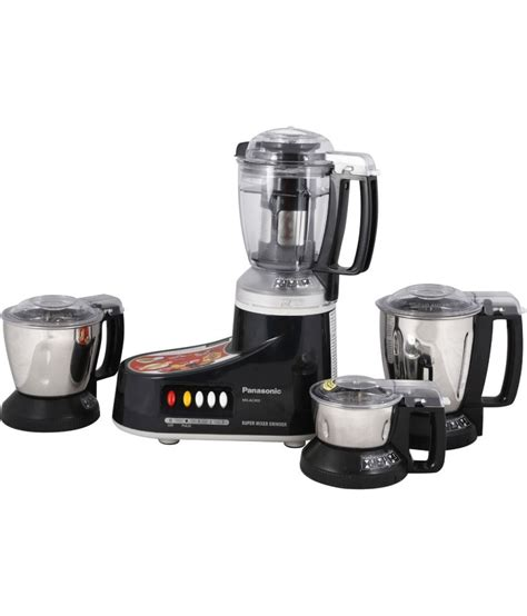 Blender Panasonic Mx panasonic mx ac 400 mixer grinder black available at