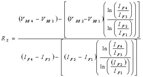 bjt thermal diode equation 4