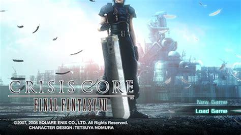 emuparadise crisis core crisis core final fantasy vii 3 73 usa iso