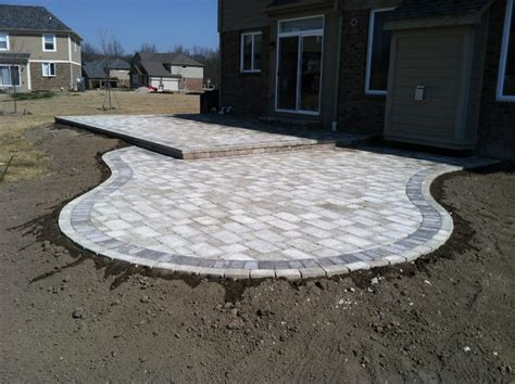 Step 2 Kitchens by Tumbled Paver Patios Traditional Patio Detroit By
