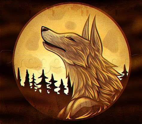 tutorial task werewolf drawing a wolf moon added by dawn september 19 2015 3