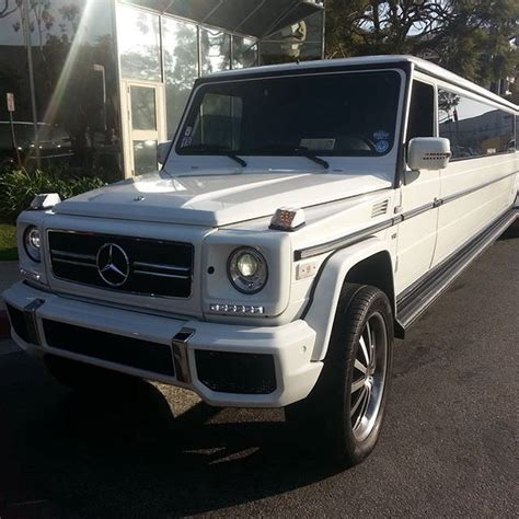 Mercedes Benz G Wagon Limousine 18 Passenger   Regency Car