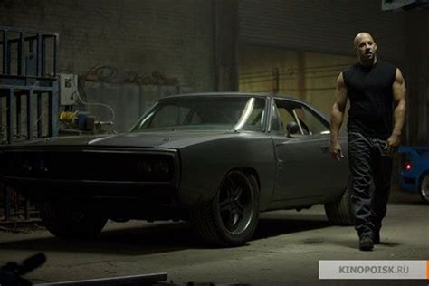 fast and furious black car vin diesel and a dodge charger in fast five car black