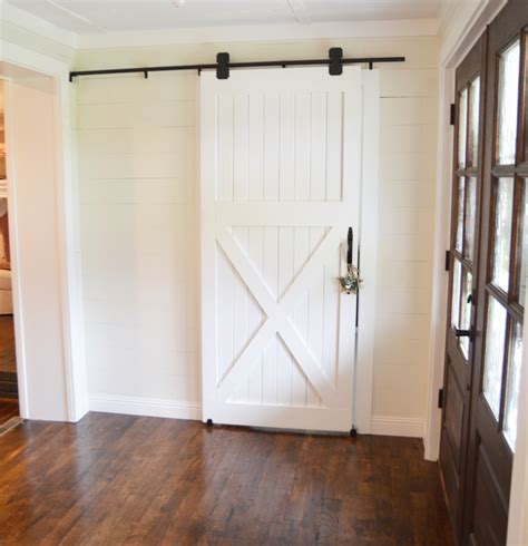 How To Make Barn Door Diy Barn Door Designs And Tutorials From Thrifty Decor