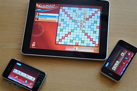 scrabble tablet scrabble for the stir in some iphones and it s the