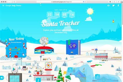 santa tracker santa tracker goes live