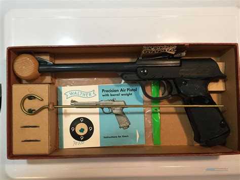 Walther Luftpistole Lp Model 53 Air Pistol Cali For Sale