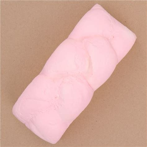 I Bloom Bread Pink Big Pink Strawberry Bread Loaf Scented Squishy By